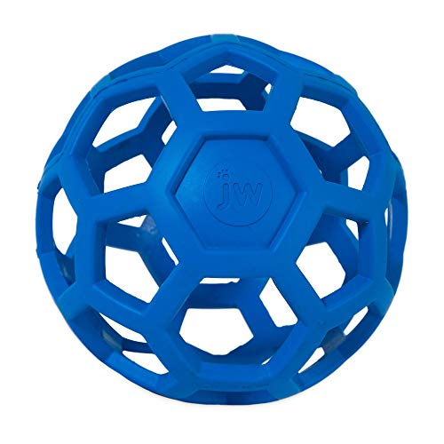 Bola Holee Roller JW para Cães, Azul, Pequeno