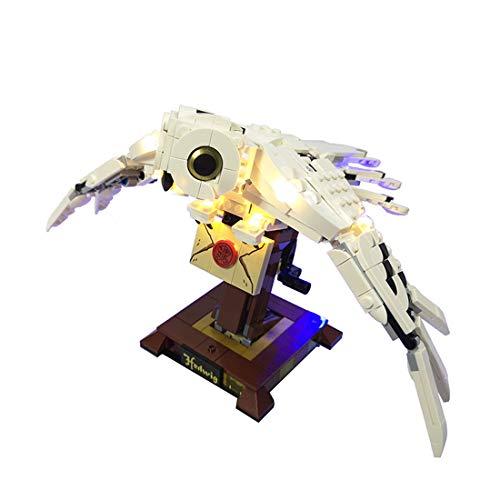 FADF Licht LED Beleuchtung Set für Lego Harry Potter Hedwig 75979 - Nicht Enthalten Lego Modell