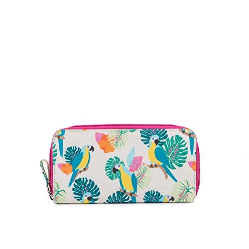 Pink Lining Portemonnaie, Papageiencreme