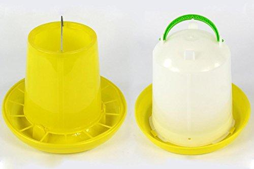 Volaille boire 7,5 litres et chargeur automatique de 10 kg potions Everts intrigue Feeder volaille Quail Poulet