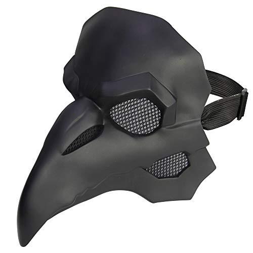 DMARPest Doktor Maske, Gothic Cosplay Retro Steampunk Requisiten, Halloween mittelalterlichen Kostüm Requisiten, Retro Leder Vogel Maske