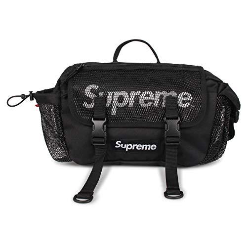シュプリーム Supreme バッグ ウエストバッグ ボディバッグ sup-200302-01 ブラック [並行輸入品]
