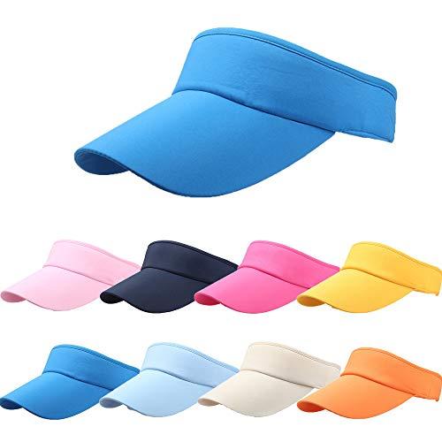 Visors No Headache Hats Adjustable Cap Outdoor Sun Sports Visor for Unisex Running and Sport