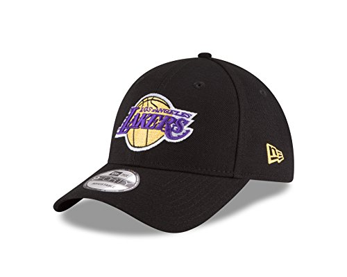 NBA Los Angeles Lakers The League 9Forty Adjustable Cap, Black, One Size