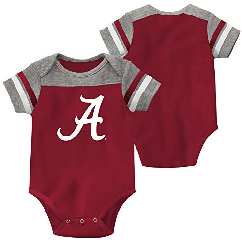 Outerstuff Alabama Crimson Tide Red Football Infant/Baby Creeper (6-9 Months)