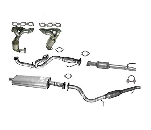 Catalytic Converter Full Exhaust System For Ford Escape Mazda Tribute 3.0L 01-04