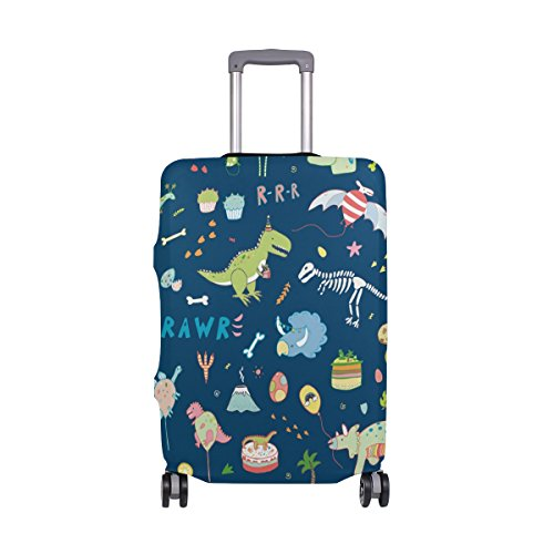 Suitcase Cover Dino Super Lightweight Luggage Cover Protector fits 18-32 inch