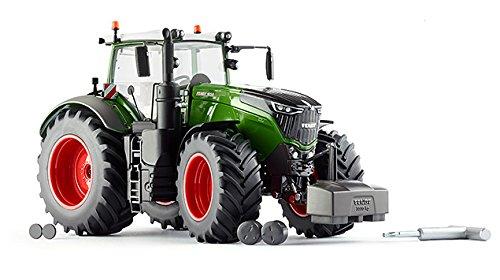 Wiking 077349 Fendt 1050 Vario Modelltraktor, 1:32, Metall/Kunststoff, Ab 14 Jahre, Viele Funktionen, Wechselbare Räder, Motorhaube zum Öffnen