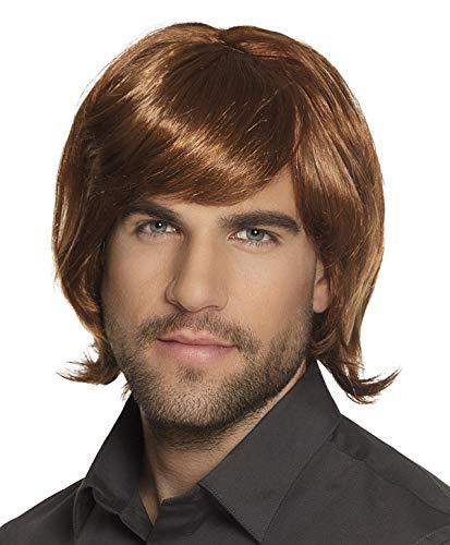 Années 70 perruque de coiffure faschingsperücke pour homme