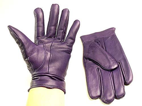 Emporium Leather Damen super weich echt Leder Handschuhe voll Fleecefutter - Groß, Flieder/Mauve