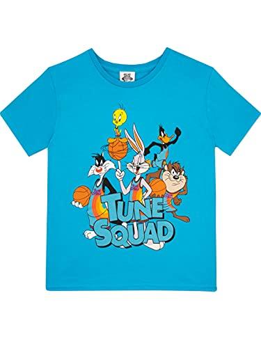 SPACE JAM Camiseta para Niño Bugs Bunny Azul 6