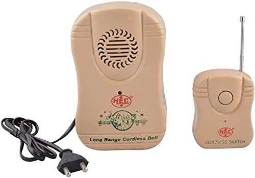 HEC Remote Calling Bell (Multicolour)