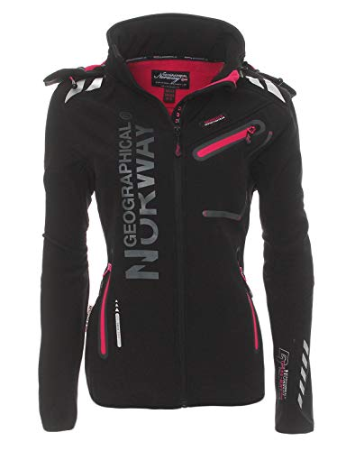 Geographical Norway Rose & Tansy – Chaqueta para mujer, transpirable, cortavientos, impermeable, para mujer