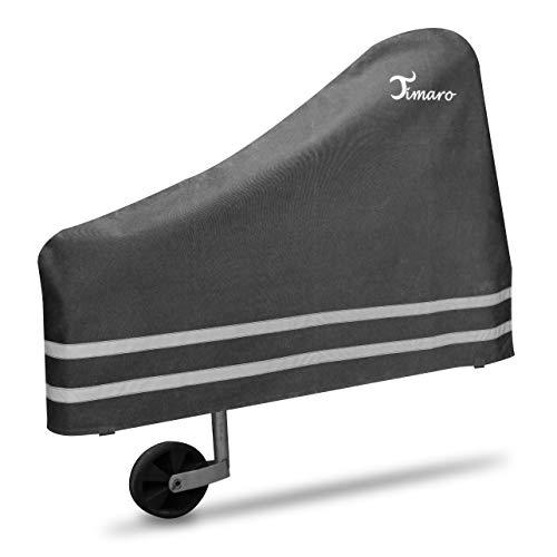 TIMARO universal Deichselhaube schwarz | Deichselabdeckung Deichselschutz für Anhänger XL Deichselhülle für Pferdeanhänger & Wohnwagen | Wetterschutz Plane - car e Cover große Schutzhülle Haube