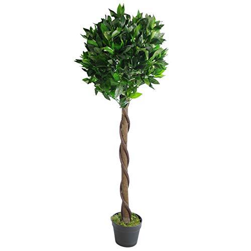 Orquídea Artificial, Giro Verde, 120 cm