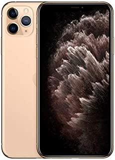 Apple MWEX2ZA/A iPhone 11 Pro Max With facetime Physical Dual SIM 4G, LTE, International Version - Gold, 64 GB