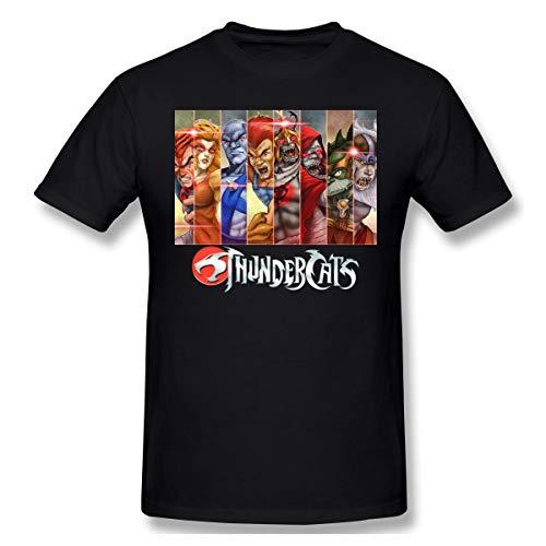 Mens Thundercats Characters T-shirt, black, S to 6XL available