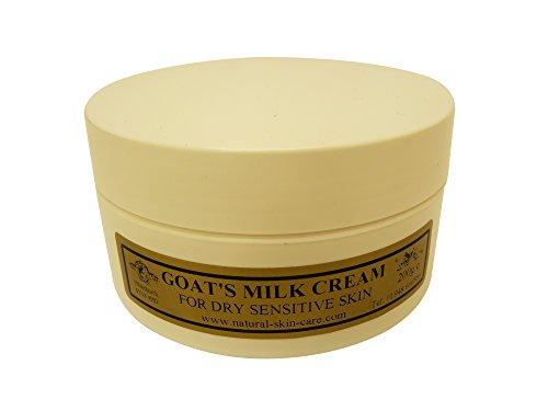 Ziegenmilch Feuchtigkeitscreme 200 g für Psoriasis Ekzem Trockene Haut Dermatitis Rosacea...