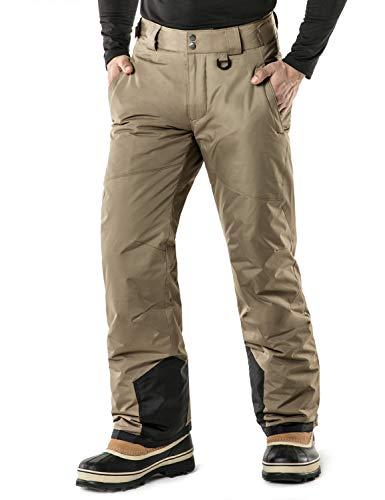 TSLA DRST Men's Winter Snow Pants, Waterproof Insulated Ski Pants, Ripstop Windproof Snowboard...