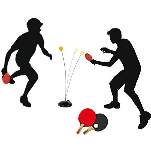 JIAN Ping-Pong Trainer Table Tennis Trainer met zachte elastische staaf Sport Decompressie Vrije tijd Interactie Open Ping Ping Pong Koop een gratis