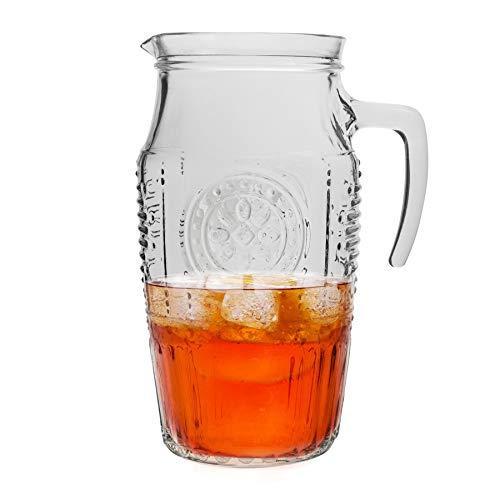 Carafe Romantic - style rétro - pour eau/jus - 1600 ml
