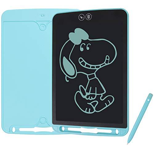Kamtop 10  LCD Tavoletta per Scrittura Supporta Cancellazione Parziale Ewriter Digitale Lavagna Scrittura Grafica Funzione Blocco con Penna Writing Tablet Drawing Pad per Bambini Insegnamento Ufficio