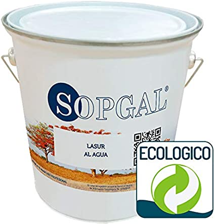 Lasur al Agua Ecológico - Sopgal (roble, 4 litros ...
