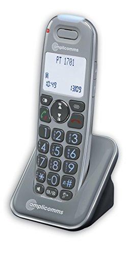 Amplicom PowerTel 1701 Telefono DECT Identificatore di chiamata Grigio