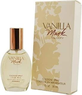 Vanilla Musk By Coty Cologne Spray 1 Oz
