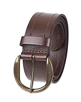 NYDJ Women's 100% Leather Casual Belt, Brown, Extra Large