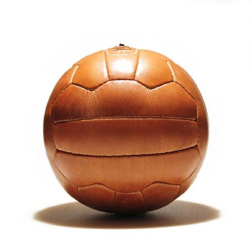 Fußball Retro - ECHTLEDERBALL