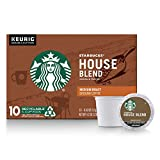 Starbucks House Blend Medium Roast Single Cup Coffee, 10 ct