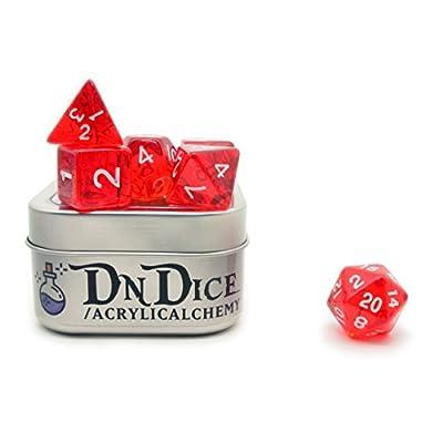 Acrylic Alchemy by DnDice - Plastic poly dice sets