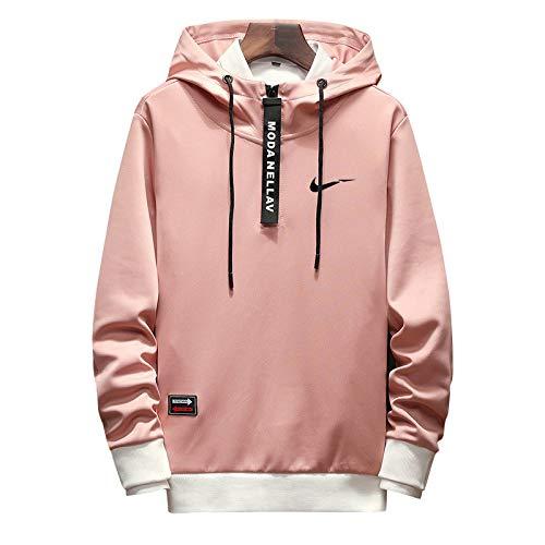 HNOSD Männer Hoodies Sweatshirts Drucken Mit Kapuze Männer Hip HopStreetwear Paare Trainingsanzüge Pullover Just it Suprem Oversized 4XL