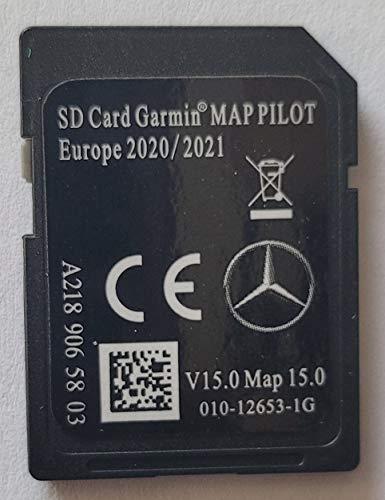 SD-Karte GPS Mercedes Garmin Map Pilot Europe 2020-2021 - STAR1 - V15 - A2189065803