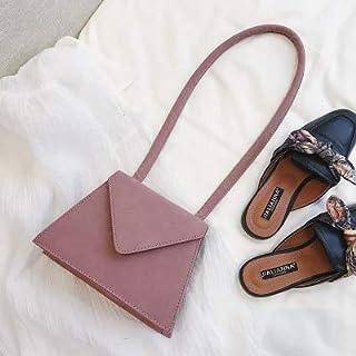Adebie - Brand Vintage Women Bag 2019 New Fashion Female Top-Handle Purse Flap Lady Luxury Chic INS Box Bag High Quality Dames Handbags Purple []