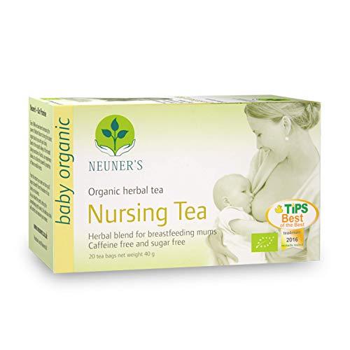 Neuner's | Organic Nursing Tea | Herbal Blend for Breastfeeding Mums | 20 Tea Bags