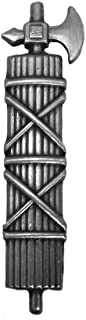 Ancient Roman fasces/Italian Fascist SPQR Standard/Caesar Of Rome Pin/Brooch