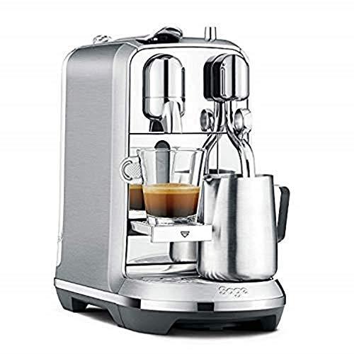 Nespresso Creatista BNE800 Salbei, gebürstet, 1600 W, 1,5 Liter, Edelstahl (Plus)