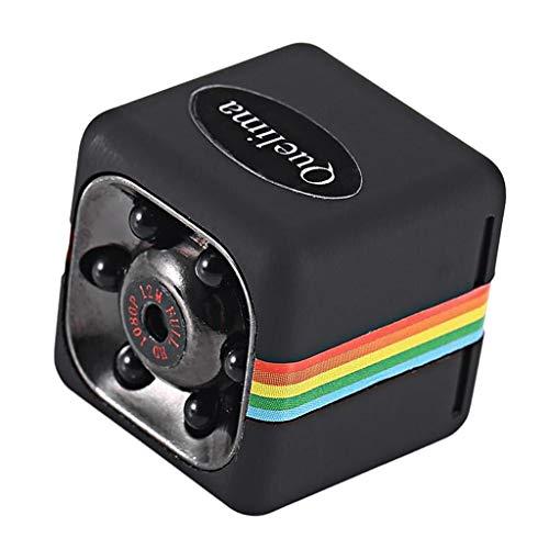 balikha Telecamera DVR per Auto con Registratore per Auto Mini Guida 1080P HD - Nero, 0.87x0.87x0.87 Pollici