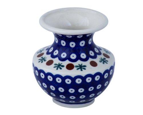 Original Bunzlauer Vase/Blumenvase H 11,1cm im Dekor 41
