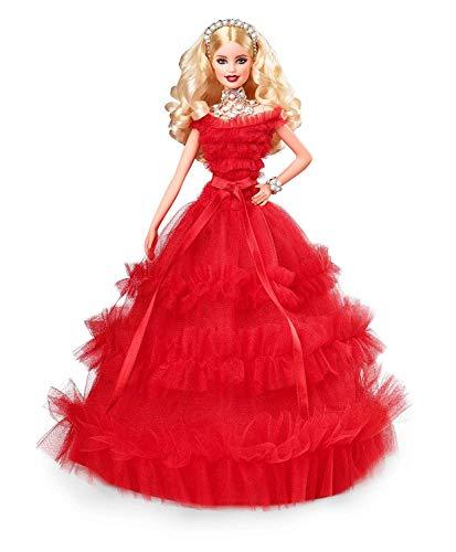 Barbie Magia delle Feste 2018 Bambola Bionda da Collezionare per Natale, FRN69