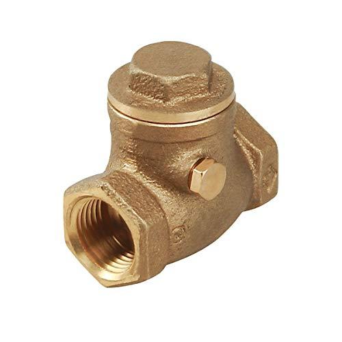 llave de paso de bronce 1 2 fabricante Everflow Supplies