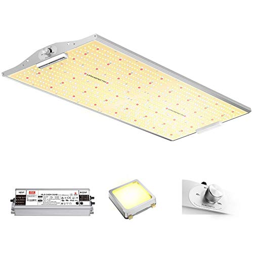 VIPARSPECTRA XS4000 LED Grow Light Use with Samsung LM301B Diodes & MeanWell Driver, 4x4ft Dimmable Full Spectrum Plant Grow Light for Indoor Hydroponic Plants Seeding Veg and Bloom