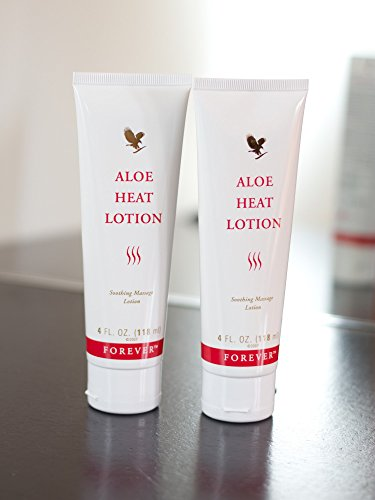 2 tubetti Aloe Vera Heat Lotion – FLP 118 ml di Forever Living