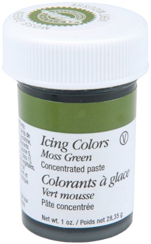 Wilton Icing Colors, Moss Green