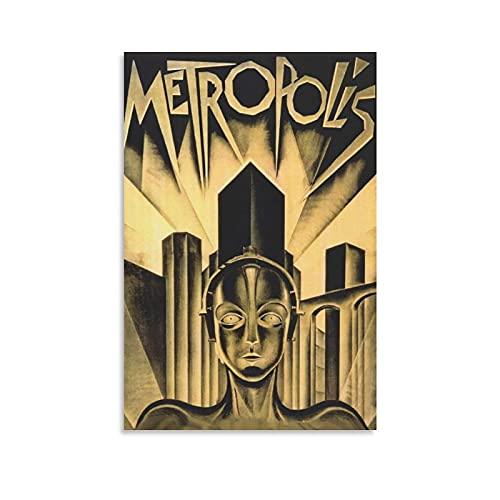 RUIFEN Metropolis Posters Ciencia ficción Lienzo Cuadros de pared Póster de la habitación para colgar en la habitación moderna decoración del hogar 60 x 90 cm