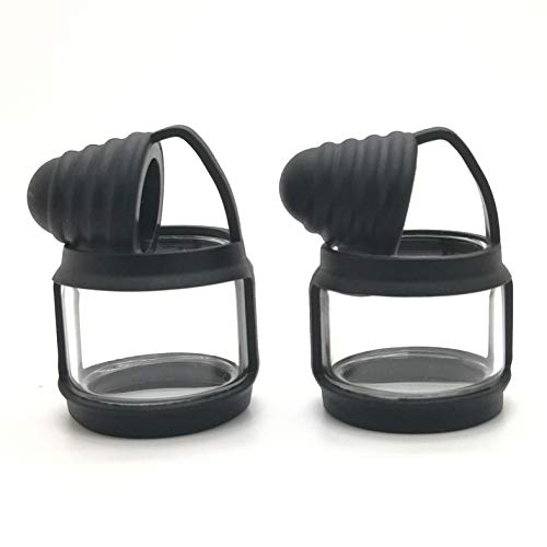 Winnema Silicone Anti Slip Band Rings Attached Drip Tip Cover for 24mm Tall 8mL Bulb Glass Protection Skin
