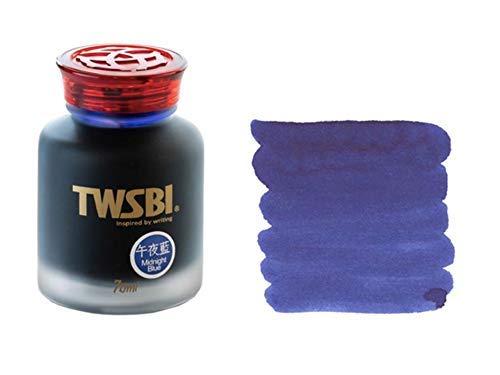 Twsbi Midnight Blue - Tinta para bolígrafos estilográficos, color azul