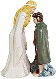 Westland Giftware Magnetic Ceramic Salt and Pepper Shaker Set, 4.5-Inch, The Lord of The Rings Frodo Kiss, Set of 2 PatternName: The Lord of The Rings Frodo Kiss Size: 4.5-Inch Model: 25321 (Home & Kitchen)